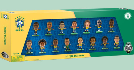 Brazil 15 Player World Cup 2014 Celebration Box Set