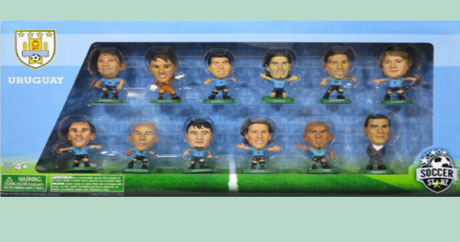 Uruguay 12 Player World Cup 2014 Celebration Box Set