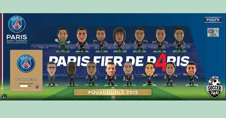 Quadruple Winners 2015 Celebration Pack