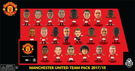8bd1a0c94 Limited Edition 2017 18 RED BASE Squad Pack. Manchester United ...
