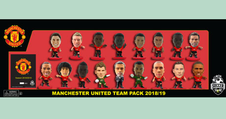 eaa651dba Limited Edition 2018 19 RED BASE Squad Pack. Manchester United ...